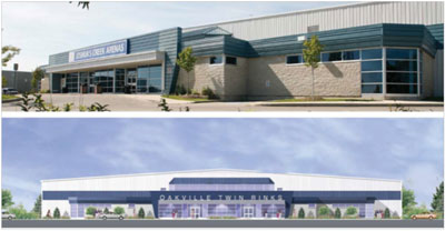 Acquisition of Dominion Twin Rinks, Oakville